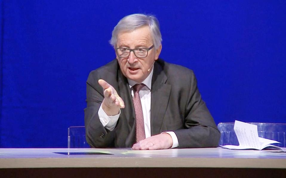O πρόεδρος της Ευρωπαϊκής Επιτροπής Ζαν-Κλοντ Γιούνκερ.