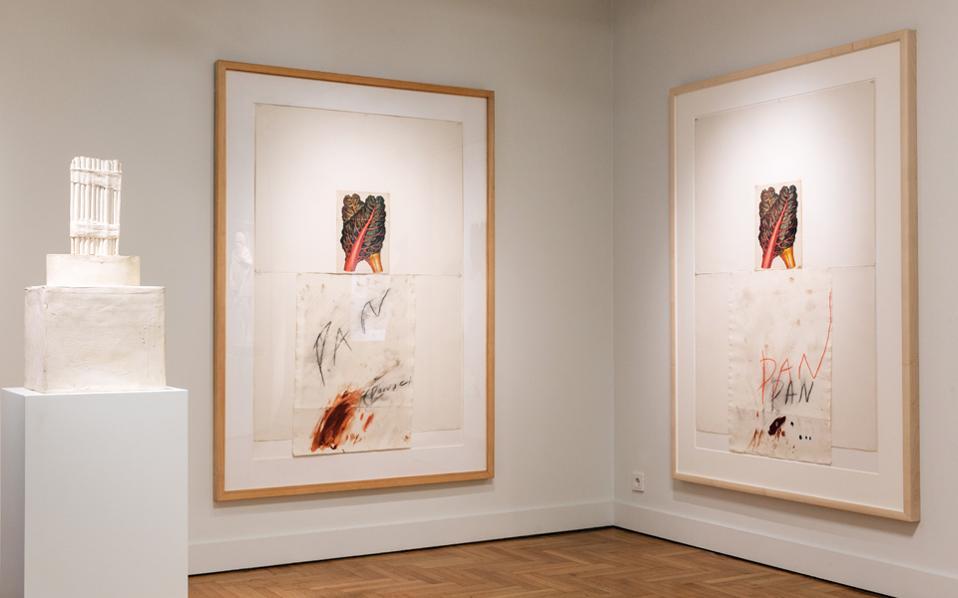 Για πρώτη φορά, 27 έργα του σπουδαίου Αμερικανού καλλιτέχνη δίπλα σε 12 έργα της αρχαιότητας.