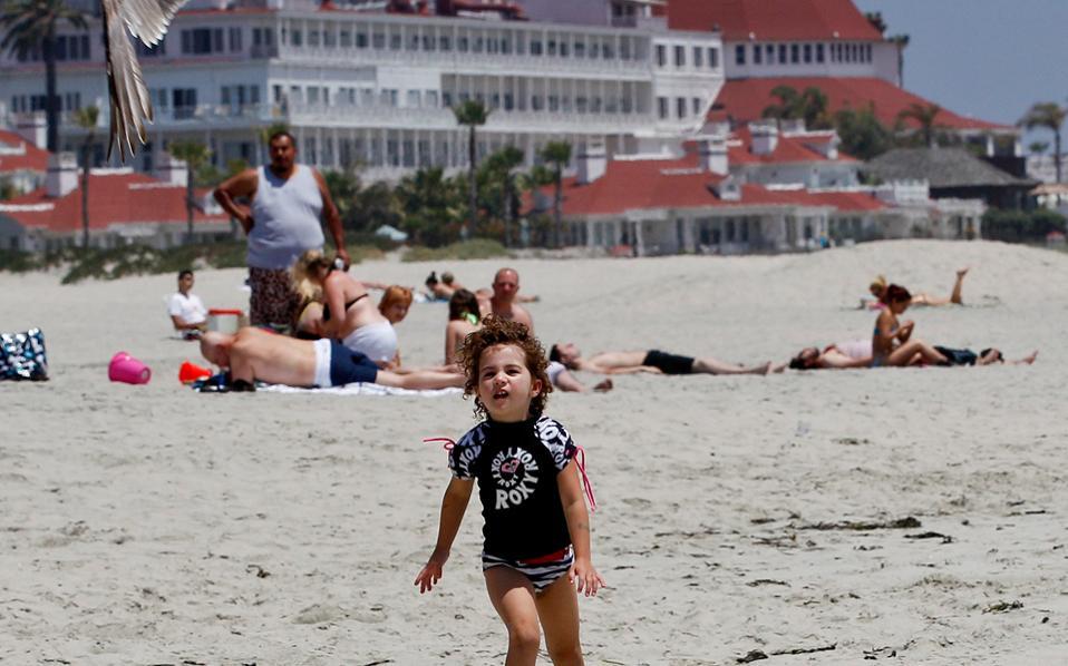 Αγνωστο επί του παρόντος ποια είναι η καλύτερη παραλία των ΗΠΑ.