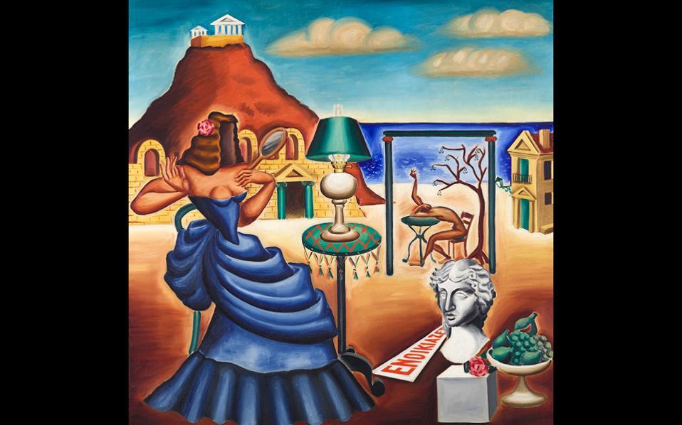 Πάνω από 100 έργα του Εγγονόπουλου θα παρουσιαστούν στην Ανδρο, καλύπτοντας ολόκληρη την πορεία του.