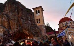 Η γιορτή της Ζωοδόχου Πηγής στα σπήλαια Κεφαλαρίου Αργολίδος, Πέμπτη 20 Απριλίου 2017.