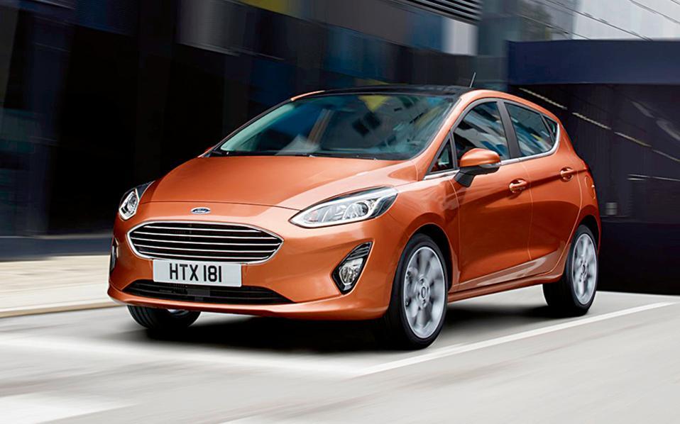 FORD FIESTA. Το νέο Fiesta θα είναι διαθέσιμο στην Ελλάδα από τον Ιούλιο για να πρωταγωνιστήσει στην κατηγορία των supermini, προτάσσοντας τους μεγαλύτερους χώρους, το εκλεπτυσμένο ντιζάιν και, όπως κάθε Ford, τα απολαυστικά οδηγικά χαρακτηριστικά.