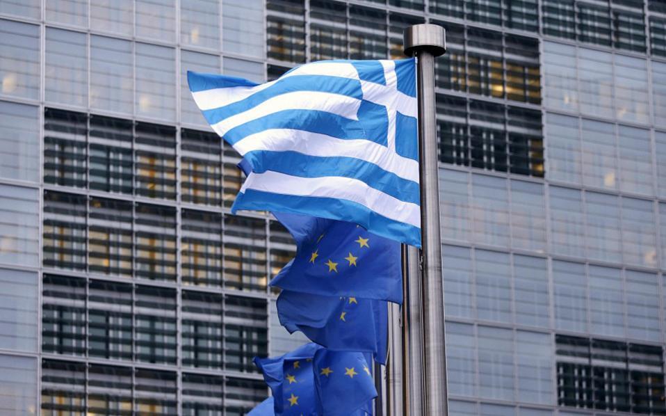 greek-national-flag-flies-next-eu-flags-thumb-large