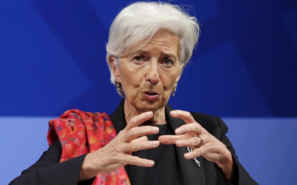 H Κριστίν Λαγκάρντ δεν αναμένεται να μεταβεί στο Eurogroup. Το ΔΝΤ θα εκπροσωπήσει ο Πόουλ Τόμσεν.