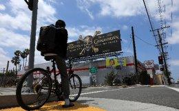 Αμερικανικό περιοδικό εικάζει ότι πρόκειται για την ταινία «Οι Πειρατές της Καραϊβικής: Οι νεκροί δεν λένε παραμύθια», η οποία αναμένεται να προβληθεί στις 26 Μαϊου. (Φωτογραφία: REUTERS / Mike Blake)