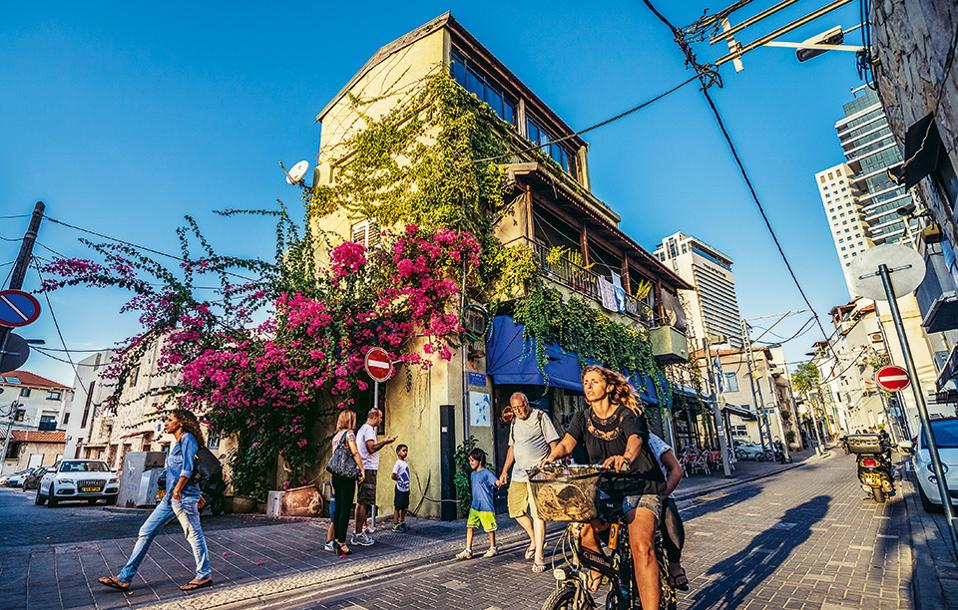 Nεβέ Τζεντέκ, μία από τις πιο ζωντανές γειτονιές του Τελ Αβίβ. (Φωτογραφία: SHUTTERSTOCK)