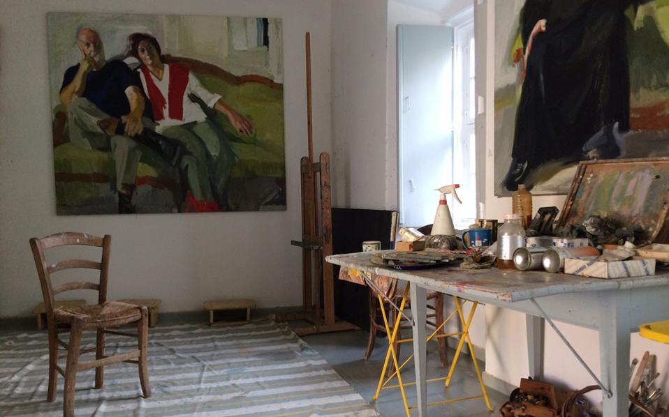 Εργα του Τέτση κρέμονται στο ατελιέ της Υδρας, το οποίο είναι επισκέψιμο για το κοινό. Μαζί με αυτά μπορεί να δει κανείς πώς ήταν μια τυπική υδραίικη κατοικία των τελών του 19ου αιώνα, με τις αυλές, τα δωμάτια αλλά και ένα μπακάλικο στο ισόγειο, που ανήκε στον παππού του ζωγράφου.