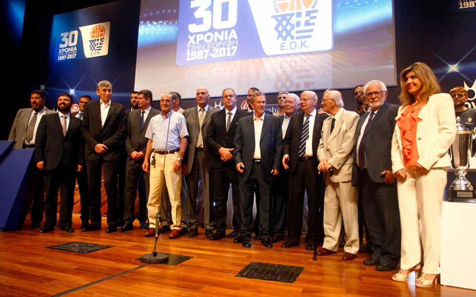 H εθνική ομάδα του 1987, 30 χρόνια μετά, ξανά μαζί.