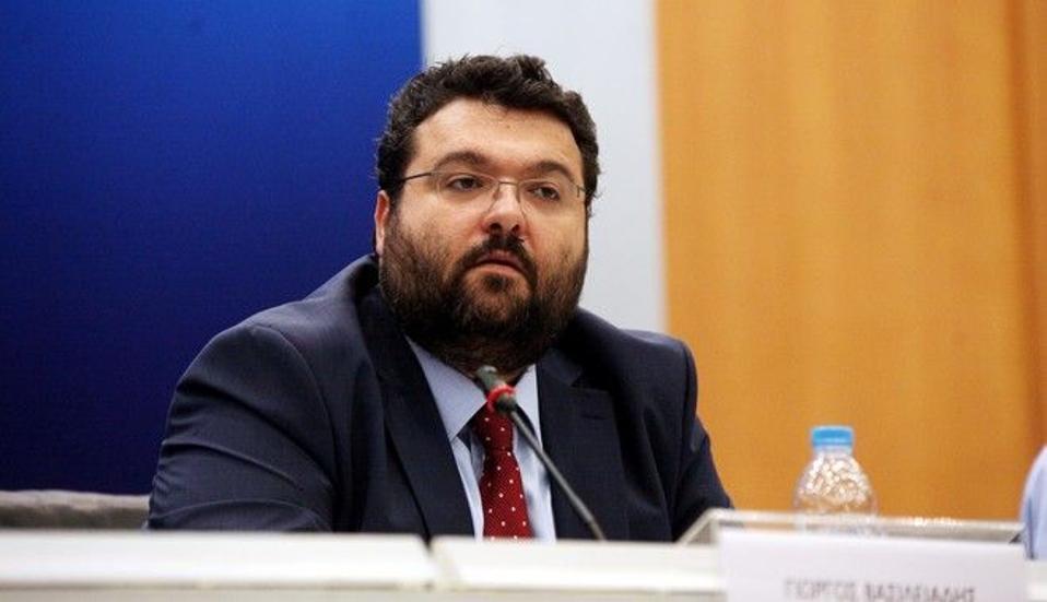 Ο υφυπουργός Αθλητισμού, Γ. Βασιλειάδης.