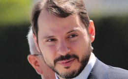 Ο γαμπρός του Ερντογάν και υπουργός Ενέργειας Μπεράτ Αλμπαϊράκ.