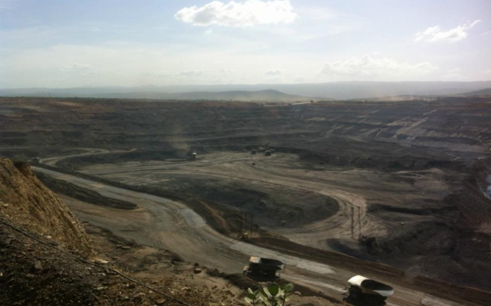 Φωτογραφία αρχείου από ορυχείο στην Κολομβία