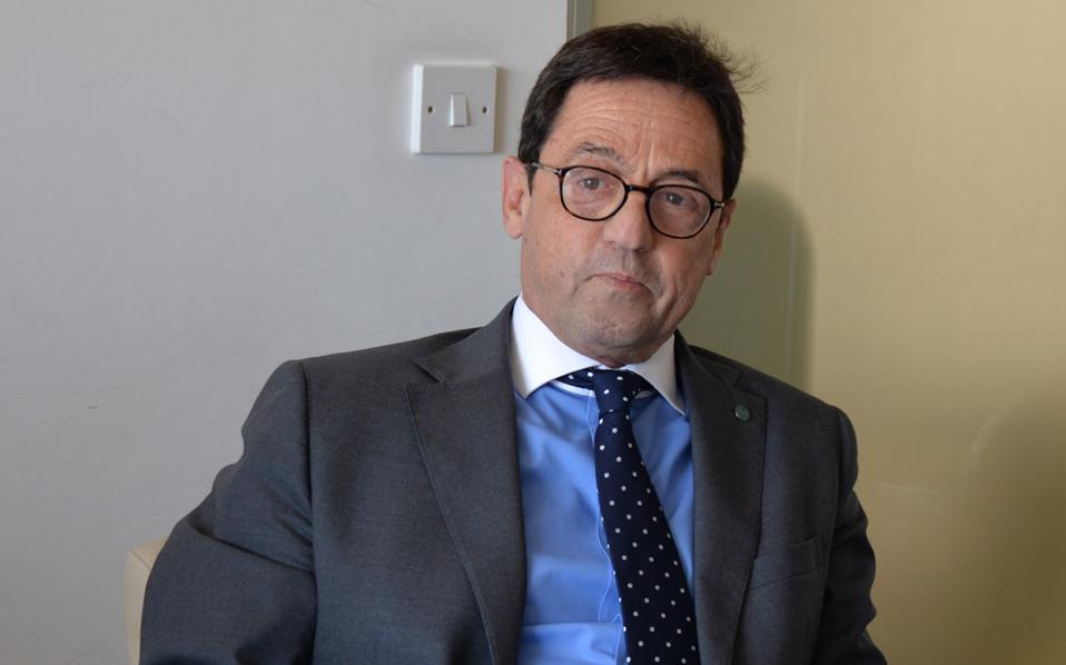 Ο Μάικ Σπανός, υποψήφιος για την προεδρία της Κύπρου.