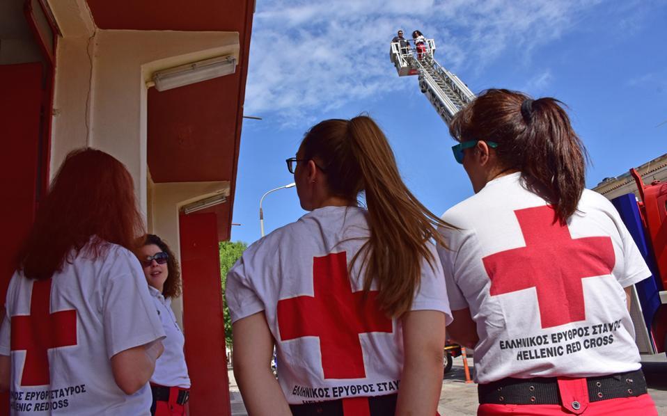 «Στα άκρα» έχει φέρει τον Διεθνή Ερυθρό Σταυρό το ελληνικό παράρτημα.