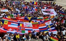 Φοιτητές από διάφορα πανεπιστήμια της Ευρώπης επισκέφθηκαν την Κρήτη τον περασμένο Μάιο, με αφορμή τον εορτασμό 30 χρόνων του Erasmus.