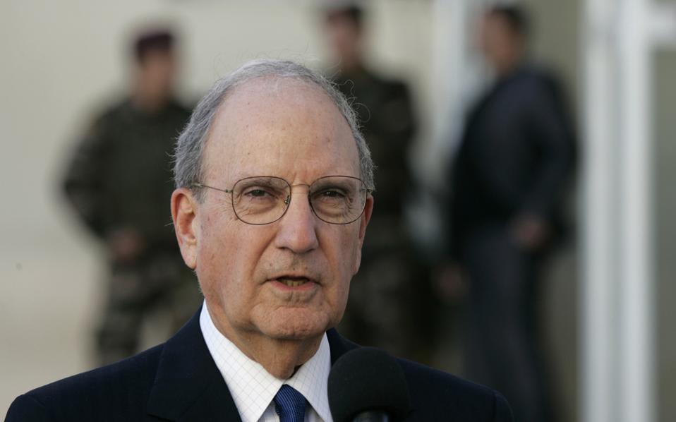 Ο πρώην ηγέτης της πλειοψηφίας της Γερουσίας των ΗΠΑ Τζορτζ Μίτσελ.