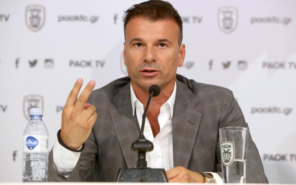 Οπαδός του επιθετικού ποδοσφαίρου δήλωσε ο νέος προπονητής του ΠΑΟΚ κατά τη χθεσινή παρουσίασή του.