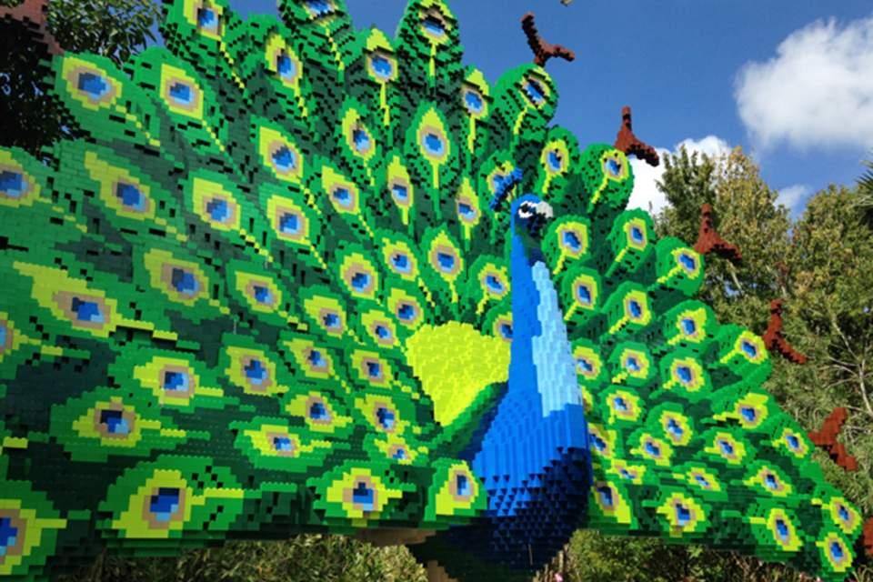 peacock-lego