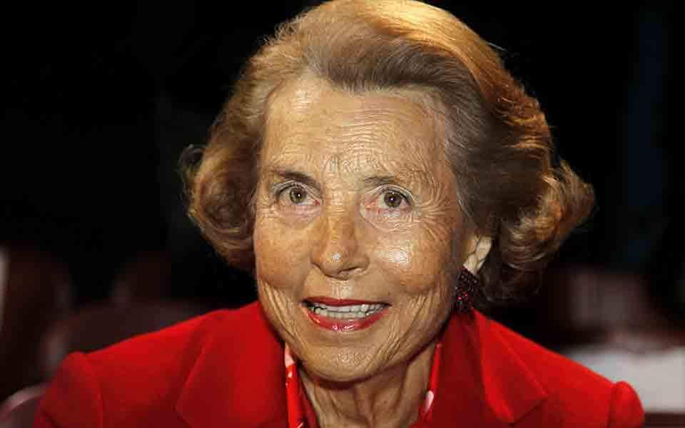 Η κληρονόμος της L'Oreal, Liliane Bettencourt έφυγε από τη ζωή και άφησε 33 δισ. ευρώ!