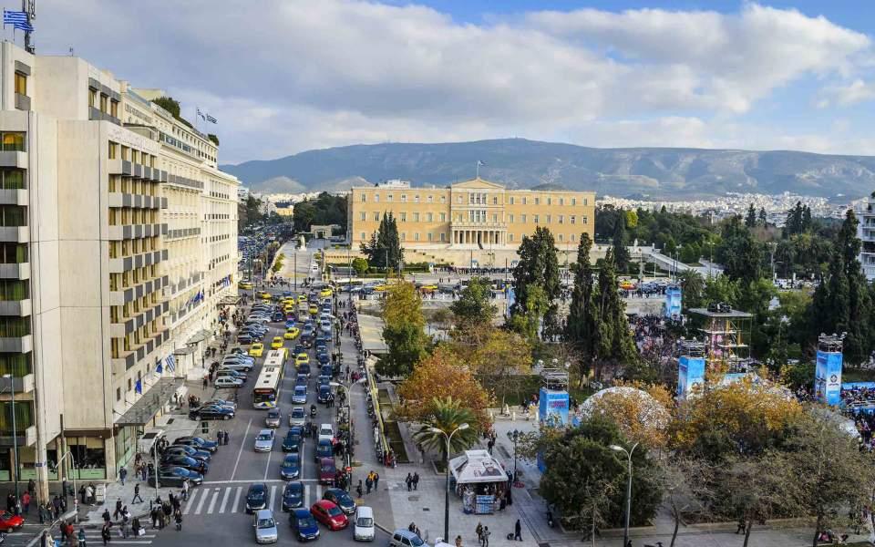 «Απαγορευμένη ζώνη» το κέντρο της Αθήνας λόγω άφιξης Ερντογάν