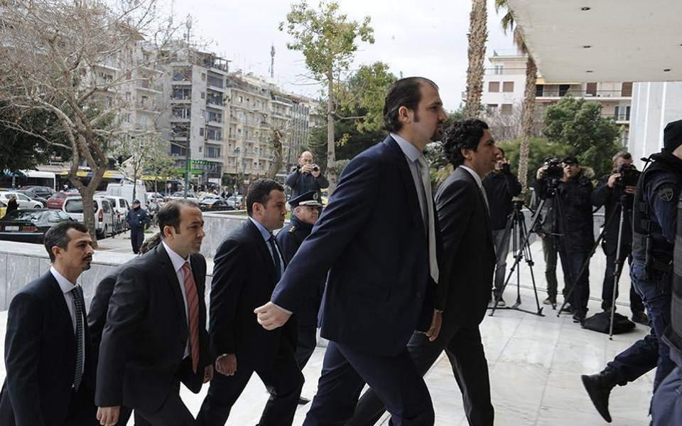 Αποτέλεσμα εικόνας για αναστελλεται η χορηγηση ασυλου στον τουρκο αξιωματικό