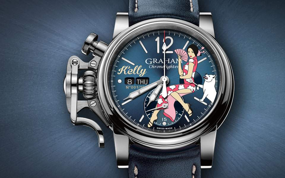 graham-chronofighter-vintage-nose-art-kelly