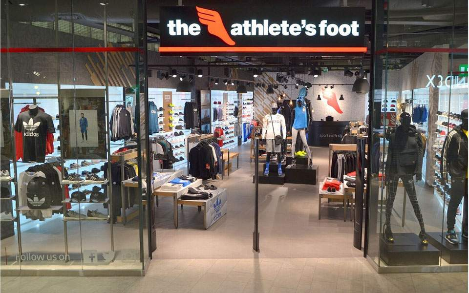 11418692325 Στα δεκατέσσερα καταστήματα The Athlete's Foot πρόκειται να προστεθούν άλλα  δύο.