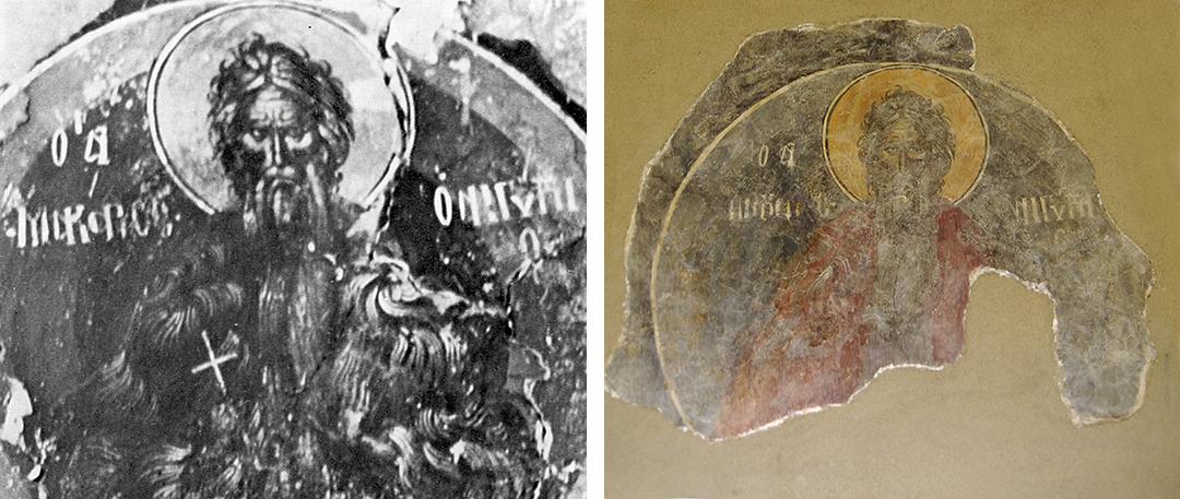 Η περιπέτεια  των τεσσάρων τοιχογραφιών στον Ιερό Ναό της Παλαιοπαναγιάς της Στενής bec10