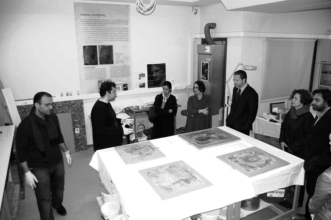 Η περιπέτεια  των τεσσάρων τοιχογραφιών στον Ιερό Ναό της Παλαιοπαναγιάς της Στενής bec13