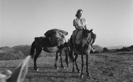 bjoan-leigh-fermor-on-horseback