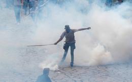 a-protester-