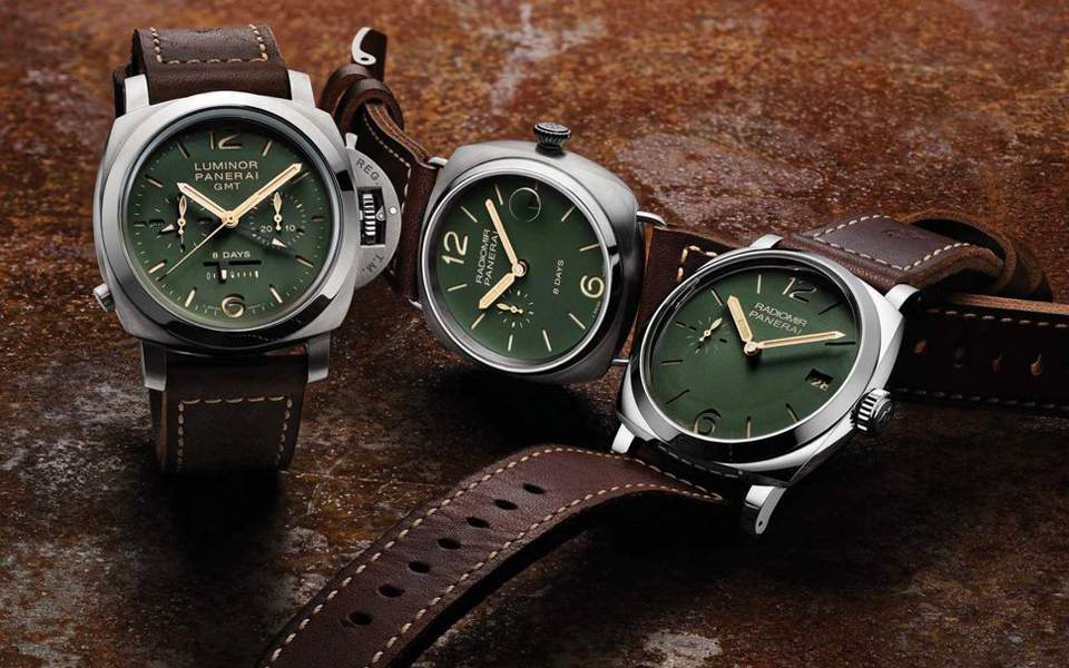 panerai-limited-edition-green-dial-collection