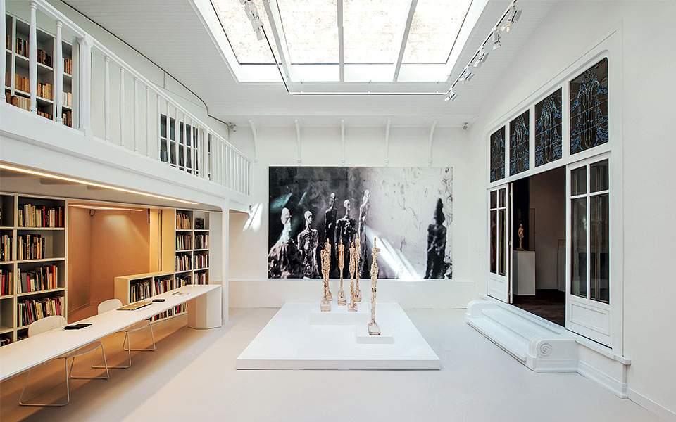 institut-giacometti-exposition-genet---giacometti-07-photo-xavier-bejot--succession-alberto-giacometti-fondation-giacometti-paris--adagp-paris
