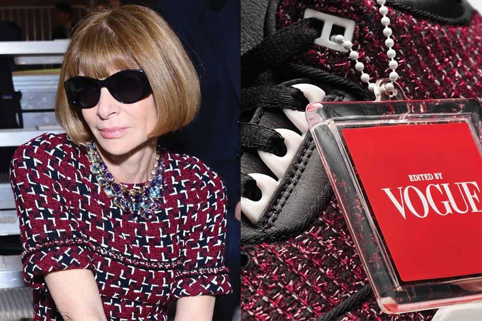 a959646f330b Με την υπογραφή της Anna Wintour τα νέα sneakers που θα θέλουμε όλες ...
