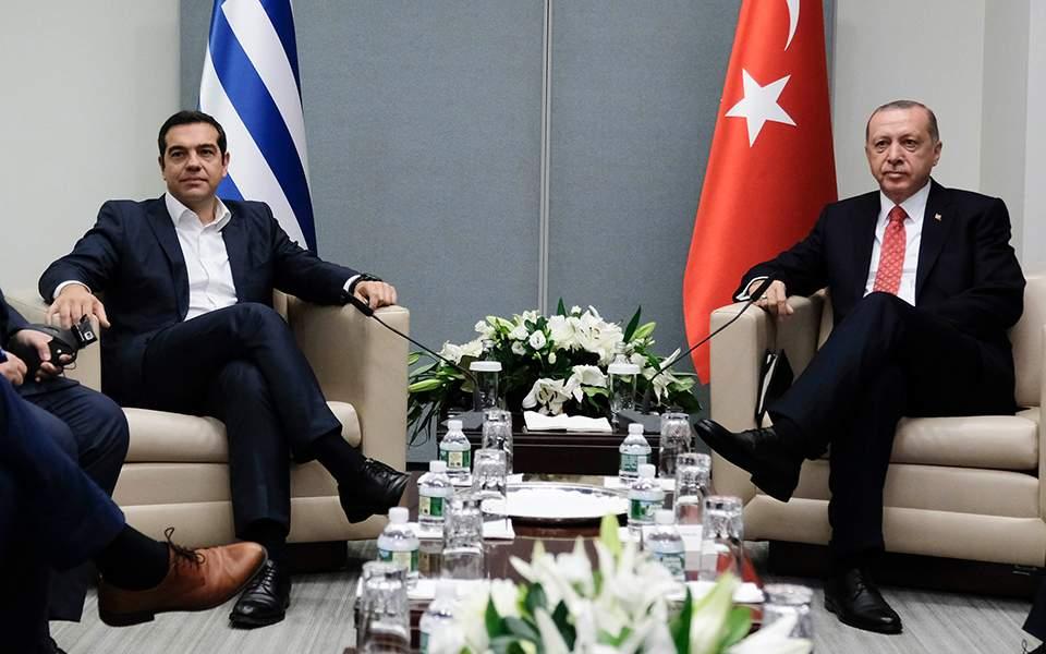 Xαμηλές προσδοκίες για το Κυπριακό μετά τη συνάντηση Τσίπρα-Ερντογάν 1