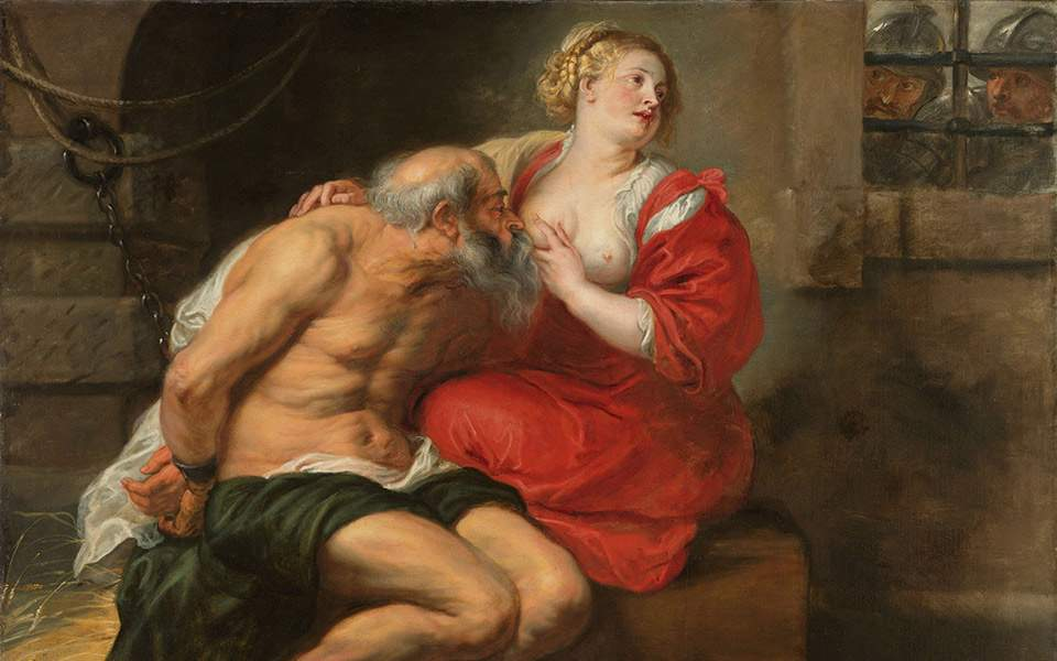 cimon-and-pero-roman-charity-peter-paul-rubens-1630-oil-on-canvas-155x190cm-amsterdam-rijksmuseum