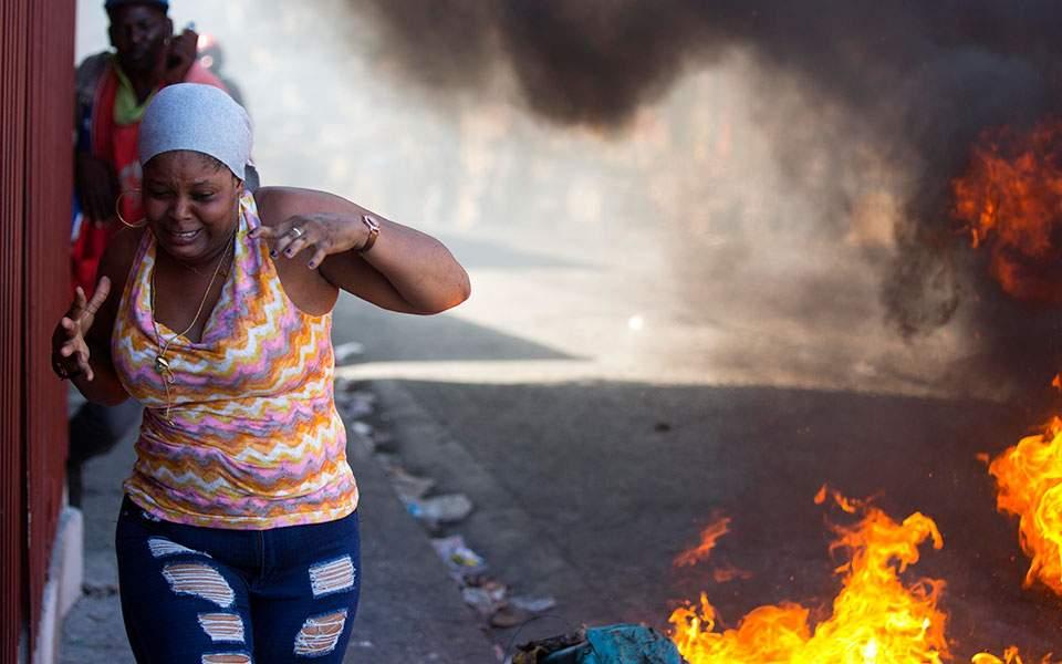 haiti_strike