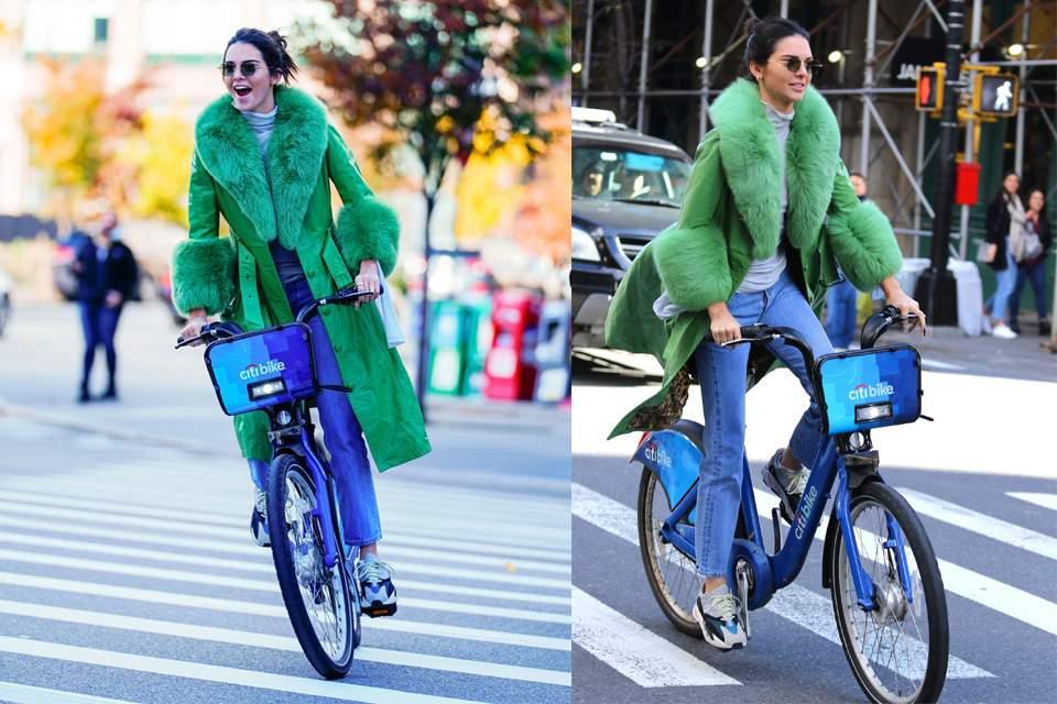 H Kendall Jenner θα σε πείσει να επενδύσεις σε ένα χρωματιστό παλτό ... 0a8f7c2dcaf