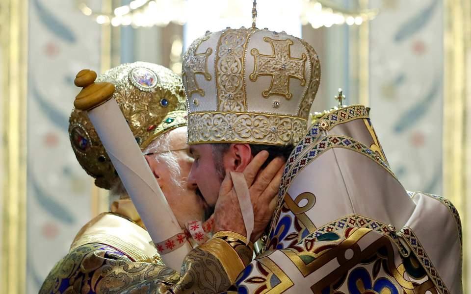 Αποτέλεσμα εικόνας για ΘΕΟΦΑΝΕΙΑ  ΑΥΤΟΚΕΦΑΛΙΑ ΣΤΗΝ ΟΥΚΡΑΝΙΑ Η Αγία του Χριστού Μεγάλη Εκκλησία σήμερα