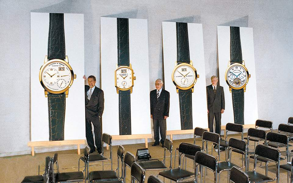 presentation-of-the-first-lange-1-in-1994