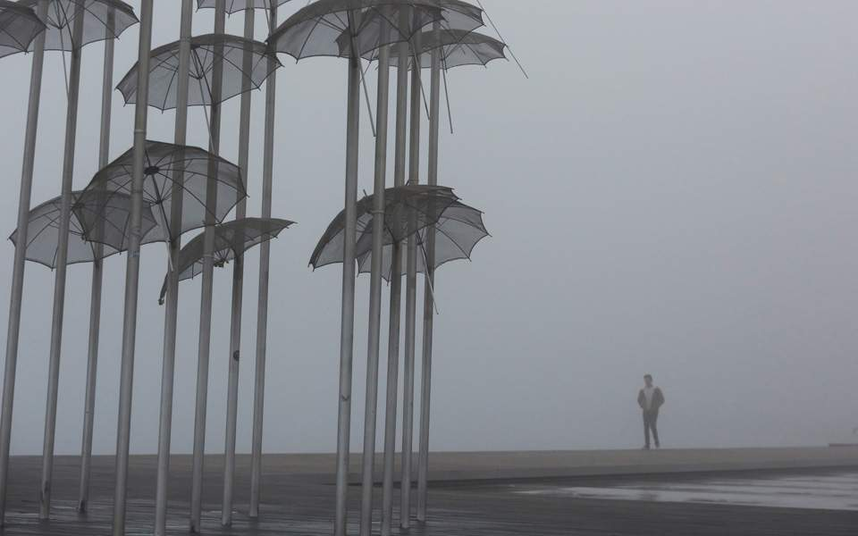 θεσσαλονικη ομιχλη