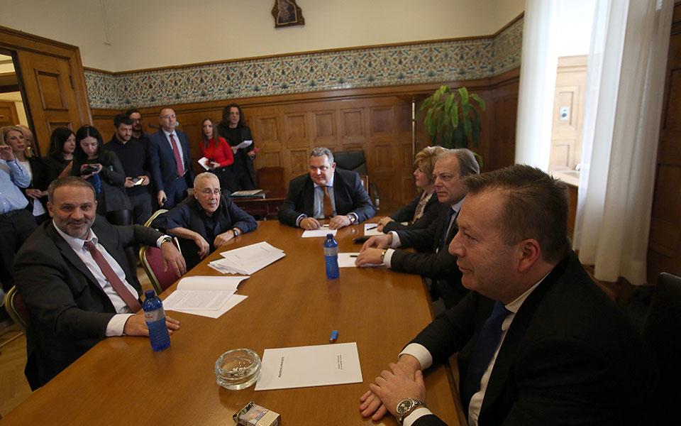 Καμμένος: Η μόνη διαφορά μας στην κυβέρνηση συνεργασίας είναι το όνομα της Μακεδονίας