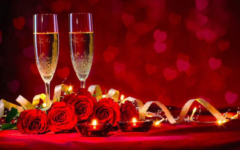 ημέρα του Αγίου Βαλεντίνου ραντεβού για δύο εβδομάδες