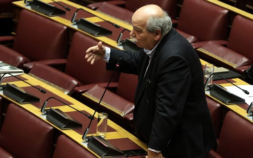Συνταγματική αναθεώρηση: Αύριο ξεκαθαρίζει η δέσμευση της επόμενης Βουλής από την παρούσα δήλωσε ο Ν. Βούτσης