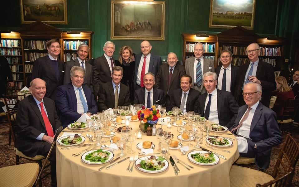 Η αφρόκρεμα της Wall Street σε δείπνο στη Νέα Υόρκη