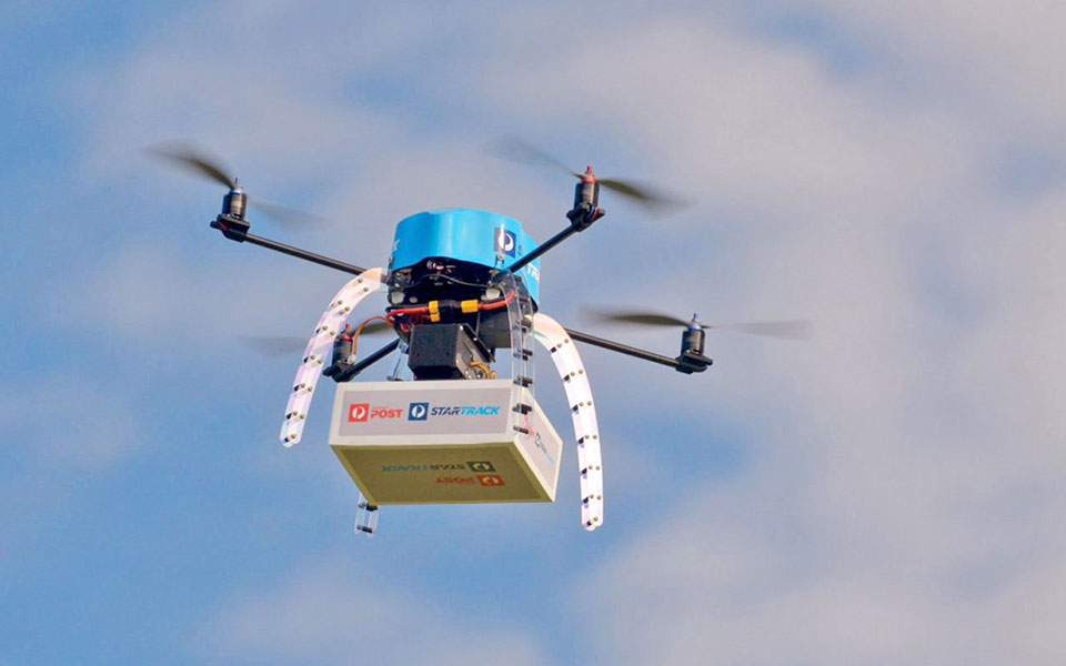 Αποστολή παραγγελίας μέσω drone από τη Google