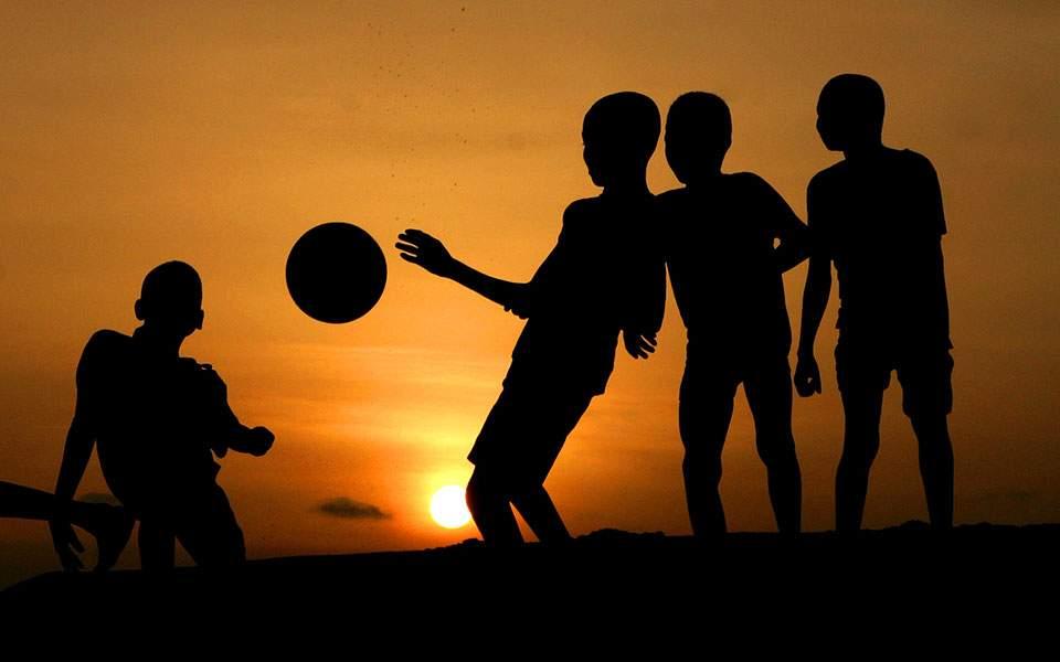 children-sun