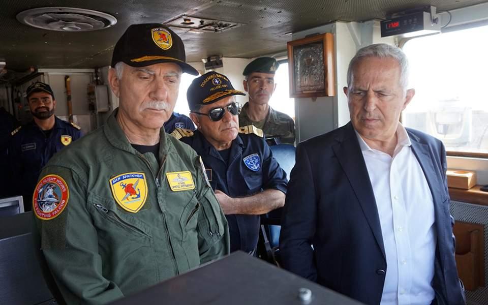 Ευ. Αποστολάκης: Οι Ένοπλες Δυνάμεις είναι ικανές, παρούσες και εγγυώνται την ασφάλεια της Ελλάδας