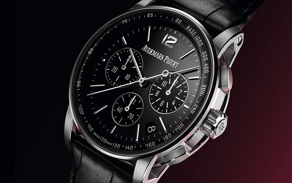 code-1159-chronograph-wg-black