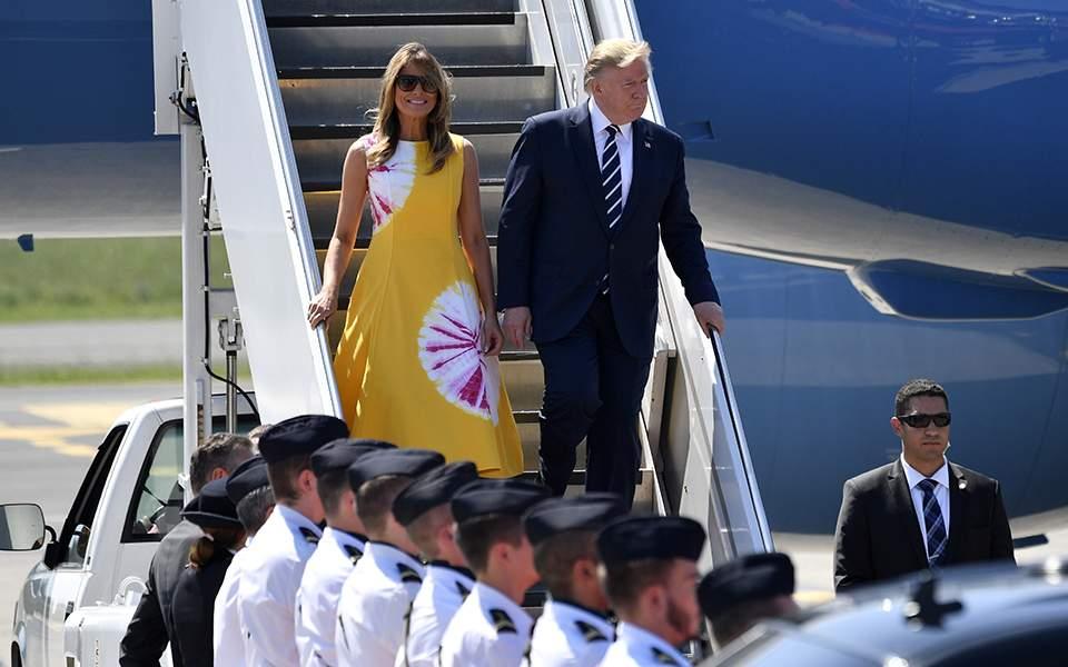 Στο Μπιαρίτς για τη Σύνοδο G7 ο Ντόναλντ Τραμπ