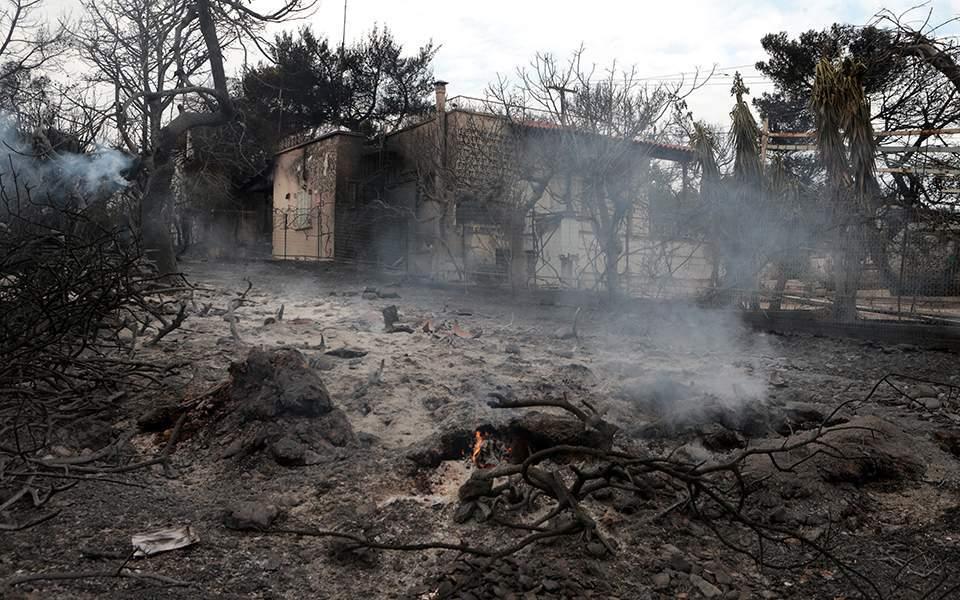 Ερευνα Αστεροσκοπείου: Οι συνθήκες που έκαναν ανεξέλεγκτη την πυρκαγιά στο Μάτι